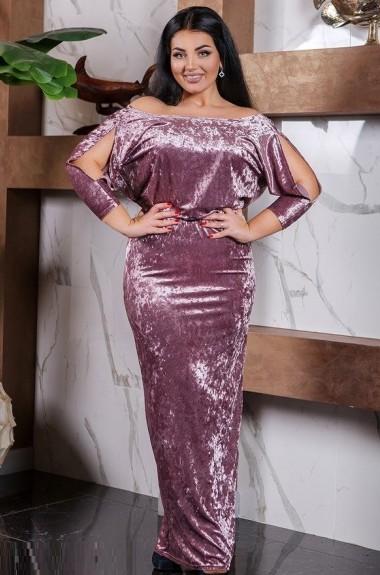 Бархатное вечернее платье DG-at41379A300