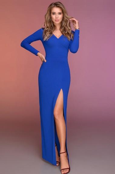Вечернее платье с разрезом DG-p15136A350