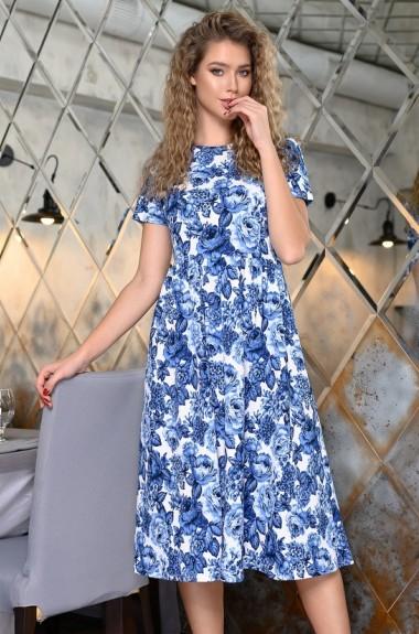 Летнее платье с цветочным принтом DG-p15285A300
