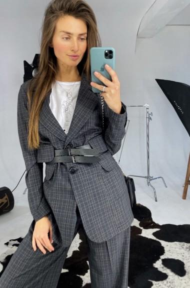 Клетчатый пиджак и брюки LDD-238A1050
