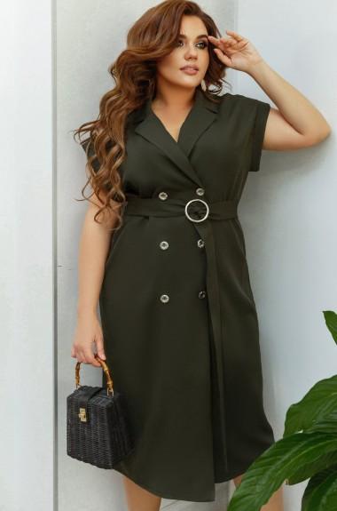 Модное платье пиджак MA-7001A390B440