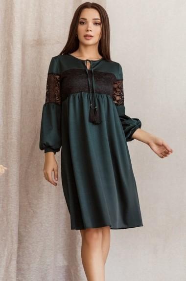 Платье свободного кроя с рукавом BAB-169A370