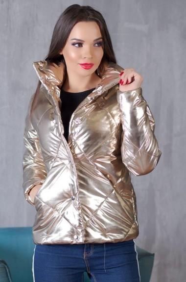 Модная блестящая куртка VP-102A400