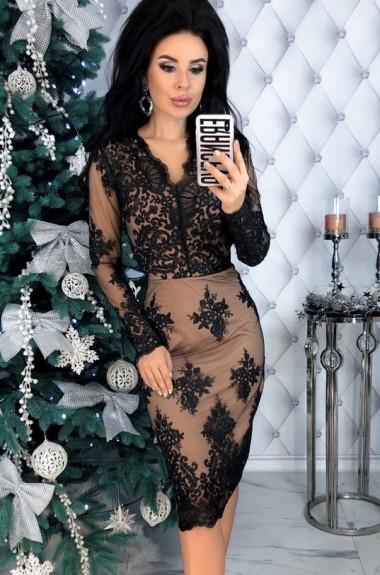 Красивое кружевное платье EFR-485A22