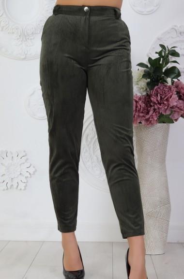 Вельветовые штаны женские VL-522A11.7
