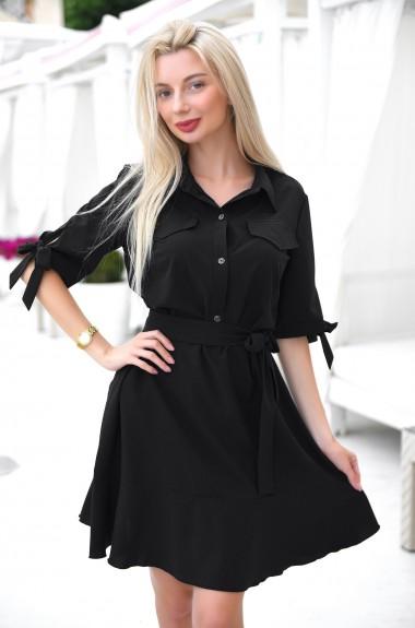 Платье с юбкой и оборками VM-9294