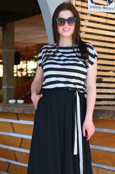 Платье из вискозы с карманами VM-9327A11