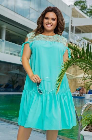 Модное платье свободного кроя LZ-462A300