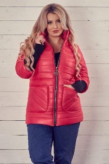 Куртка с накладными карманами женская KPO-144