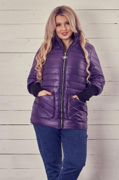 ddbb51c192f Куртка с накладными карманами женская KPO-144