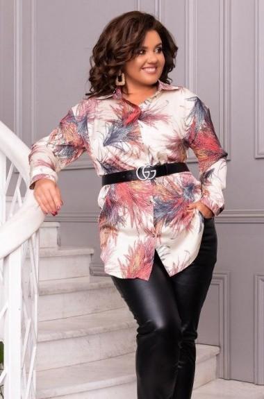 Блуза шелковая женская EY-334A18B21