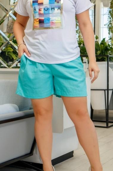 Льняные шорты женские EY-175