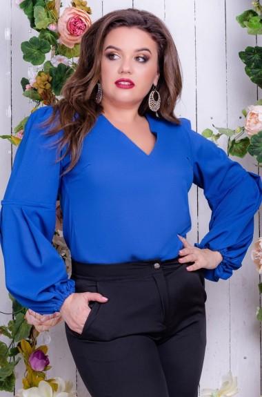 26dc3303915 Блузки туники рубашки большого размера