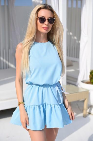 Платье с оборками VM-9291