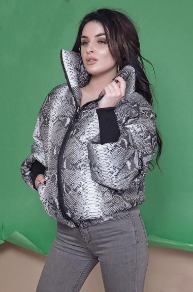 Куртка с принтом женская RO-2227.5170A22B26