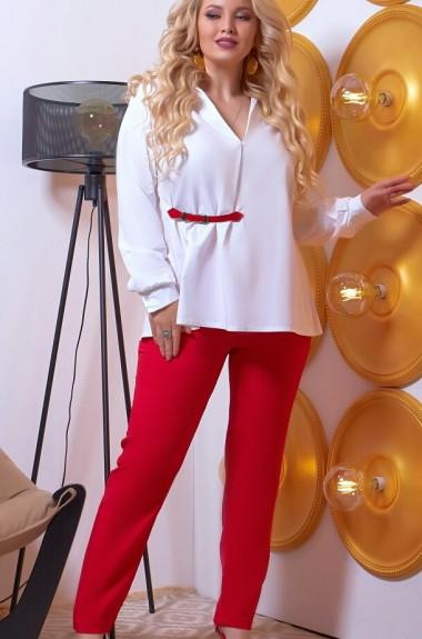 Классические брюки с блузкой SVA-1017A560