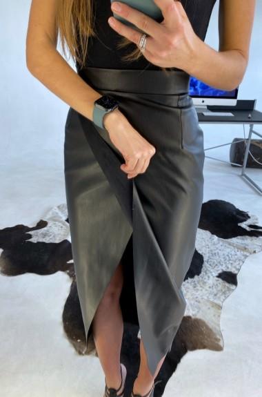 Модная юбка с запахом LDD-234A520