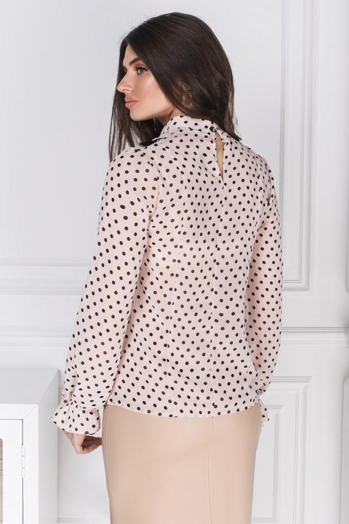 Красивая шифоновая блузка ODF-694A10