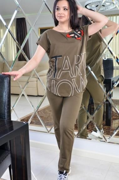 Спортивный костюм для прогулок женский IB-0502