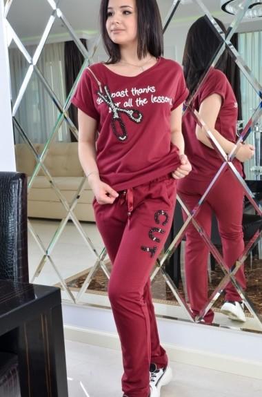 Прогулочный женский костюм спортивный IB-0503