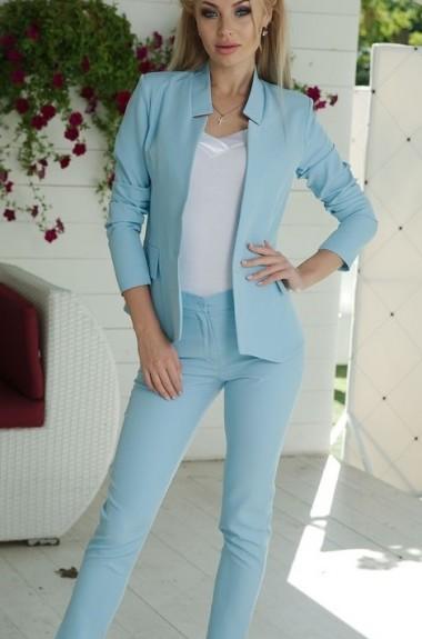 Костюм пиджак и брюки женский NBV-057