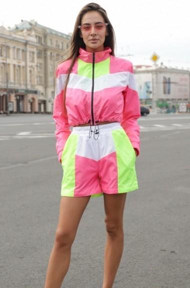 Спортивный костюм с шортами VK-K215A600