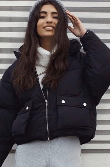 Объемная модная куртка DS-0302A500
