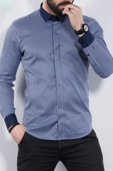 Стильная рубашка в полоску RT-3518308