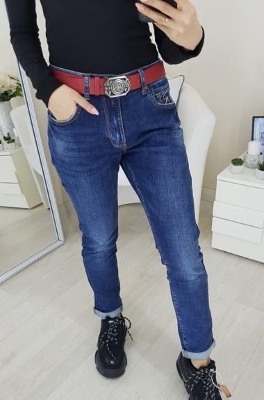 Завышенные джинсы бойфренды APR-7016A17.5