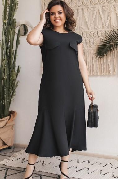 Легкое платье миди MA-584A200
