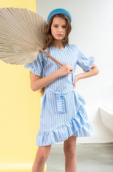 Детское льняное платье DV-AR0015A305
