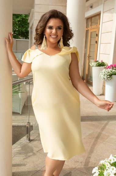 Красивое платье на бретельках NS-087