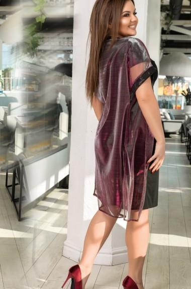 Костюм платье накидка DV-1017