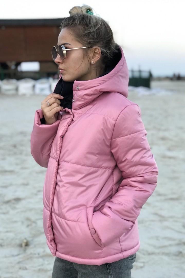 Весенняя куртка с капюшоном AMR-0242A380B420