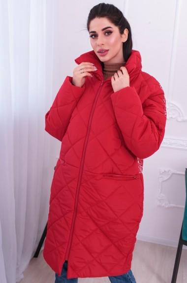 Пальто из стеганной плащевки RO-2314A650