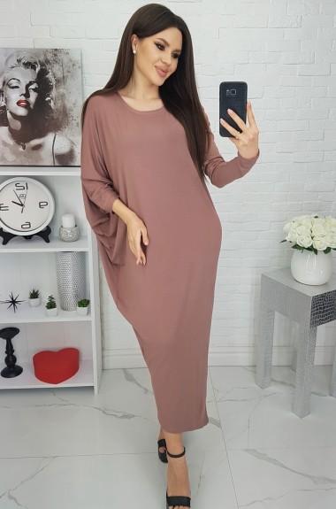 Свободное платье в пол VEN-0066A10