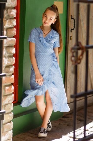 Модное летнее платье для девочки KL-524