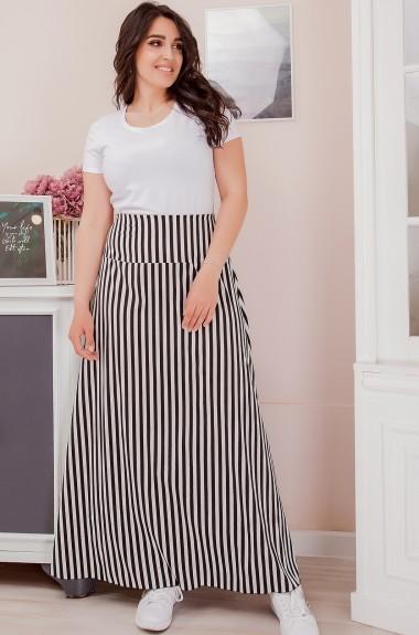 Длинная юбка в полоску SIM-S8115A12