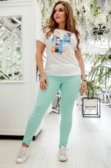 Стрейчевые брюки EY-1691