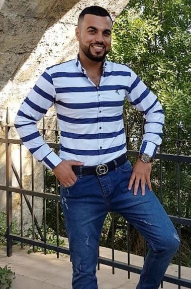 Рубашка в полоску мужская V7V-M100A11
