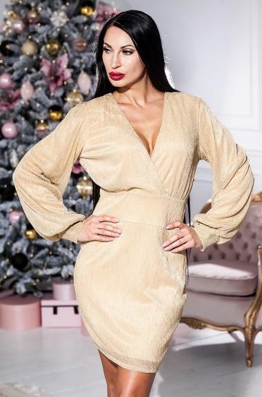 Короткое платье из люрекса KV-N957A200
