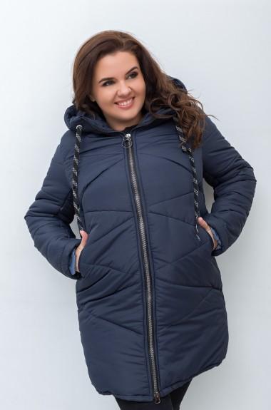 Классическая зимняя куртка женская IP-338A600