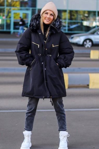 Утепленная куртка парка AR-0411019A42