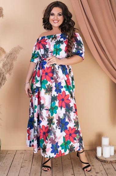 Женское платье с принтом VL-580A14