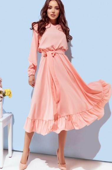 25e24a99e5e7755 Интернет магазин Украина. вы смотрели. Женское платье с рюшами RK-262