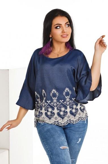 Блуза с рукавами воланами DG-p1582
