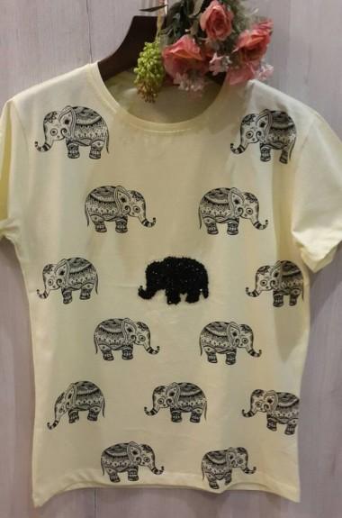Турецкая футболка женская IZ-41137