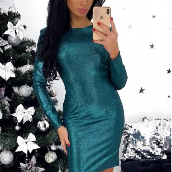 Красивое облегающее платье ANA-1307A11