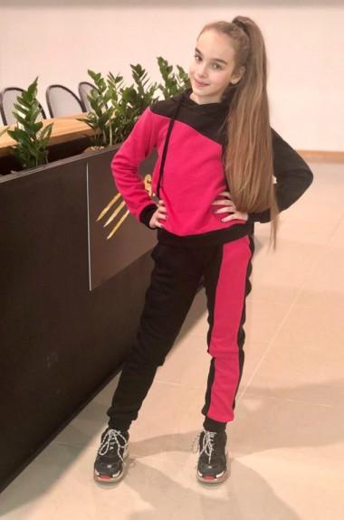 Детский костюм с мехом KL-514