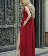 Длинное платье в пол KL-282